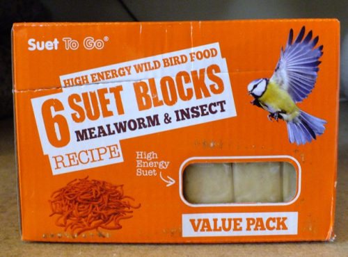 Suet Blocks x 6