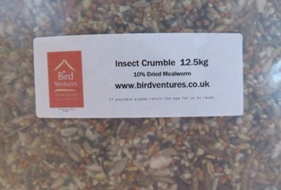 Bird Crumble for Insect Eaters 12.55 kg